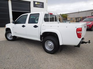 2009 Holden Colorado RC MY09 LX Crew Cab 4x2 White 4 Speed Automatic Utility