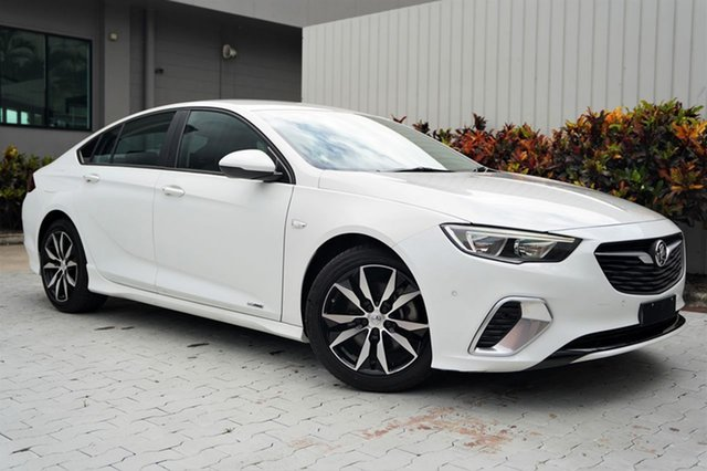 Used Holden Commodore ZB MY18 RS Liftback AWD Cairns, 2018 Holden Commodore ZB MY18 RS Liftback AWD White 9 Speed Sports Automatic Liftback