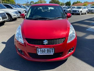 2011 Suzuki Swift FZ GLX Red 4 Speed Automatic Hatchback.