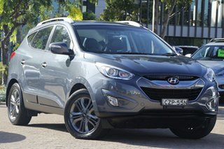 2015 Hyundai ix35 LM Series II Elite (FWD) Pepper Grey 6 Speed Automatic Wagon