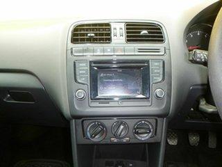 2015 Volkswagen Polo 6R MY16 66TSI Trendline Blue 5 Speed Manual Hatchback