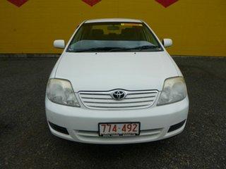 2007 Toyota Corolla ZRE152R Ascent White 4 Speed Automatic Sedan.