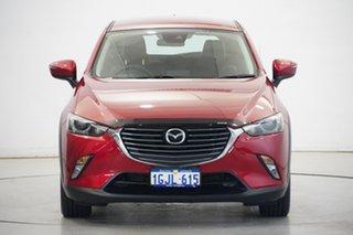 2017 Mazda CX-3 DK2W7A sTouring SKYACTIV-Drive Burgundy 6 Speed Sports Automatic Wagon.