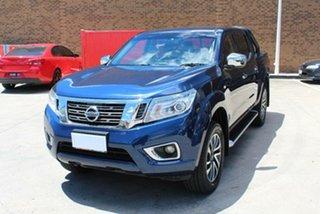 2016 Nissan Navara NP300 D23 ST (4x4) Blue 7 Speed Automatic Dual Cab Utility.