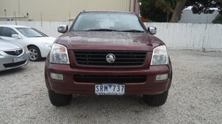 2003 Holden Rodeo RA LT Crew Cab Red 4 Speed Automatic Utility