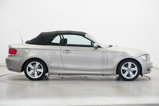 2008 BMW 125i E88 125i Gold 6 Speed Automatic Convertible