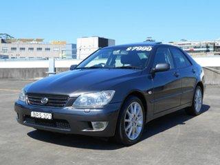 2005 Lexus IS JCE10R MY04.5 IS300 Sports Luxury Grey 5 Speed Sports Automatic Sedan