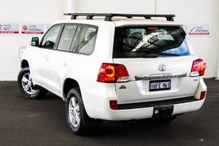 2012 Toyota Landcruiser VDJ200R MY12 Altitude Crystal Pearl 6 Speed Sports Automatic Wagon.