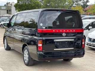2005 Nissan Elgrand E51 XL Black Automatic Wagon.