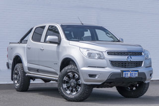 2014 Holden Colorado RG MY14 LX Crew Cab Nitrate 6 Speed Manual Utility.