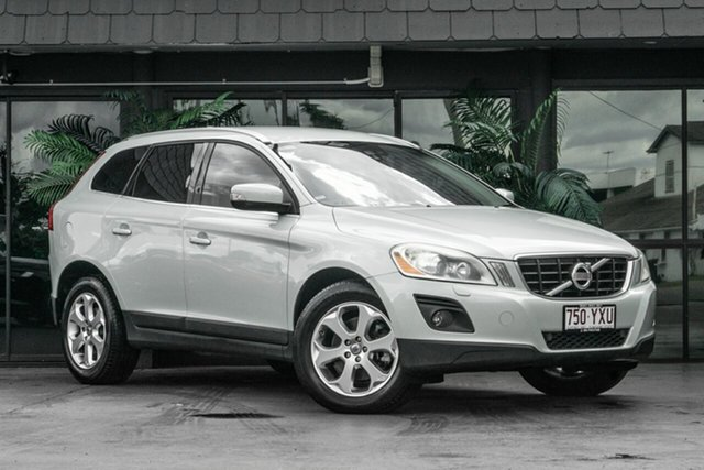Used Volvo XC60 DZ MY09 T6 Geartronic AWD Bowen Hills, 2009 Volvo XC60 DZ MY09 T6 Geartronic AWD White 6 Speed Sports Automatic Wagon