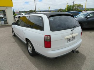1997 Holden Commodore Acclaim White 4 Speed Automatic Wagon