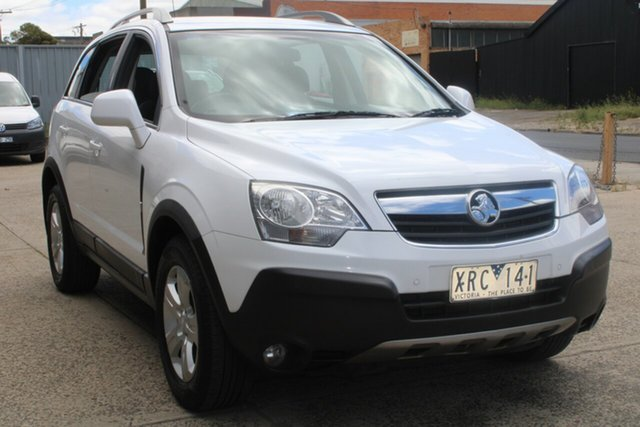 Used Holden Captiva CG MY10 5 (4x4) West Footscray, 2010 Holden Captiva CG MY10 5 (4x4) White 5 Speed Automatic Wagon