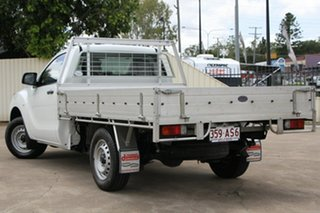 2013 Mazda BT-50 UP0YD1 XT 4x2 Cool White 6 Speed Manual Cab Chassis.