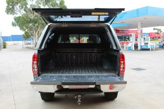 2011 Nissan Navara D40 ST (4x4) Grey 6 Speed Manual Dual Cab Pick-up