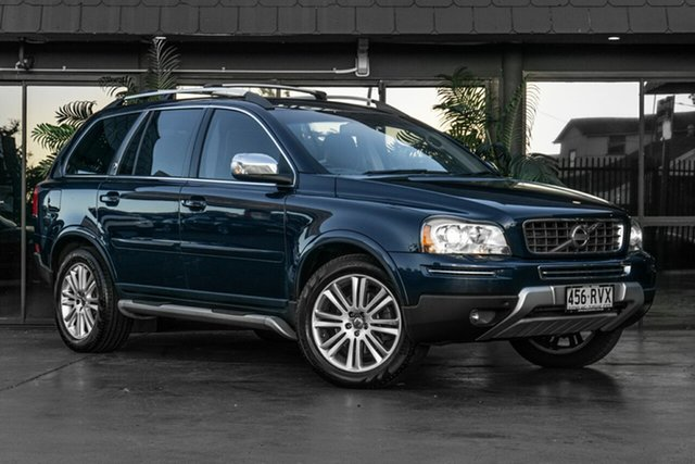 Used Volvo XC90 P28 MY12 Executive Geartronic Bowen Hills, 2011 Volvo XC90 P28 MY12 Executive Geartronic Blue 6 Speed Sports Automatic Wagon