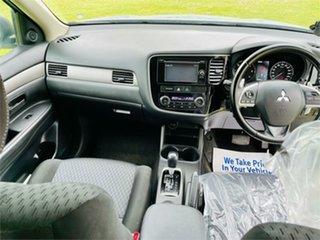 2012 Mitsubishi Outlander ZJ ES (4x4) Silver 6 Speed Continuous Variable Wagon