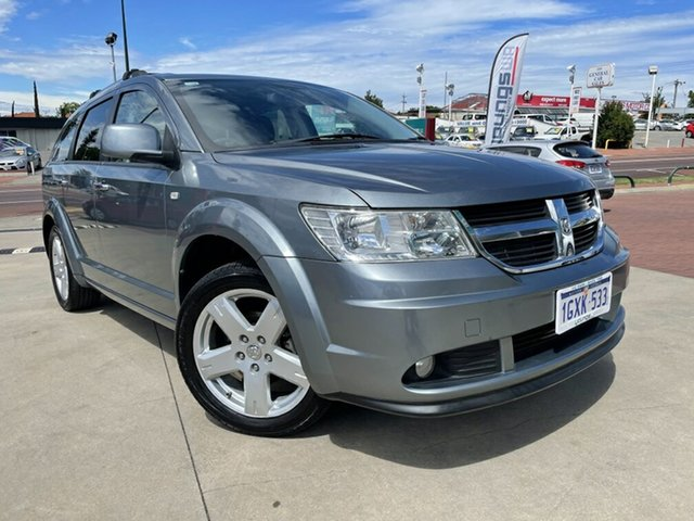 Used Dodge Journey JC MY10 R/T Victoria Park, 2011 Dodge Journey JC MY10 R/T Grey 6 Speed Automatic Wagon