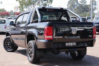 2016 Volkswagen Amarok 2H MY16 TDI340 4x2 Black 6 Speed Manual Utility.