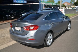 2018 Holden Astra BL MY17 LTZ Grey 6 Speed Automatic Sedan.