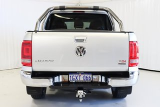 2014 Volkswagen Amarok 2H MY14 TDI400 4Mot Highline Silver 6 Speed Manual Utility