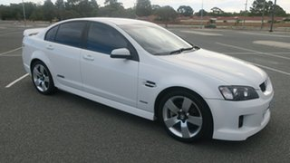 2010 Holden Commodore VE II SS White 6 Speed Sports Automatic Sedan.