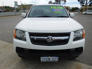 2009 Holden Colorado RC MY09 LX Crew Cab 4x2 White 4 Speed Automatic Utility.