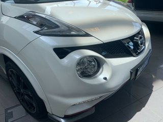 2018 Nissan Juke F15 MY18 NISMO X-tronic AWD RS Ivory Pearl 8 Speed Constant Variable Hatchback