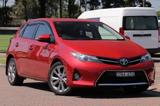 2013 Toyota Corolla ZRE182R Levin SX Burgundy 6 Speed Manual Hatchback.
