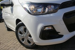 2017 Holden Spark MP MY18 LS White Continuous Variable Hatchback.