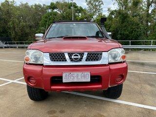 2008 Nissan Navara D22 ST-R (4x4) Red 5 Speed Manual Dual Cab Pick-up