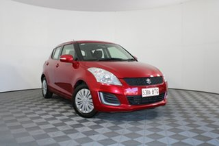 2014 Suzuki Swift FZ MY14 GL Red 4 Speed Automatic Hatchback.