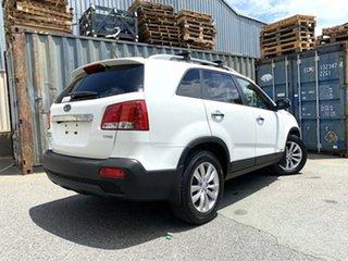 2011 Kia Sorento XM MY11 Platinum White 6 Speed Sports Automatic Wagon.