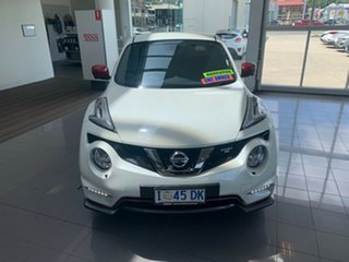 2018 Nissan Juke F15 MY18 NISMO X-tronic AWD RS Ivory Pearl 8 Speed Constant Variable Hatchback.