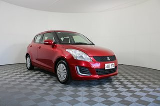 2014 Suzuki Swift FZ MY14 GL Red 4 Speed Automatic Hatchback