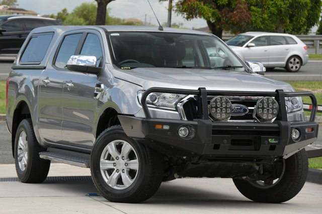 Used Ford Ranger PX MkII XLT Double Cab 4x2 Hi-Rider North Lakes, 2016 Ford Ranger PX MkII XLT Double Cab 4x2 Hi-Rider Grey 6 Speed Sports Automatic Utility