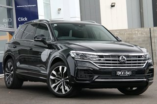 2020 Volkswagen Touareg CR MY21 V8 TDI Tiptronic 4MOTION R-Line Black 8 Speed Sports Automatic Wagon.