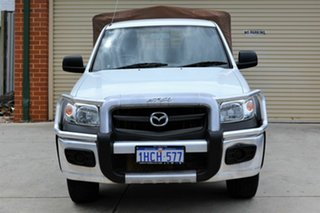 2008 Mazda BT-50 UNY0E4 SDX Freestyle White 5 Speed Manual Utility.