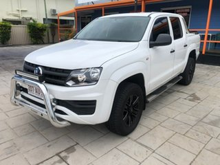 2018 Volkswagen Amarok 2H MY19 TDI420 4MOTION Perm Core White 8 Speed Automatic Utility.