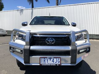 2020 Toyota Hilux GUN126R SR5 Double Cab White 6 Speed Sports Automatic Utility