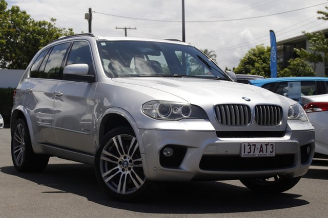 Used BMW X5 E70 MY11.5 xDrive50i Steptronic Sport Mount Gravatt, 2011 BMW X5 E70 MY11.5 xDrive50i Steptronic Sport Silver 8 Speed Sports Automatic Wagon