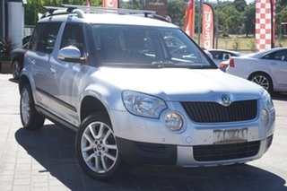 2011 Skoda Yeti 5L 77TSI DSG Silver 7 Speed Sports Automatic Dual Clutch Wagon.