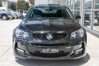 2016 Holden Commodore VF II MY16 SS V Redline Black 6 Speed Sports Automatic Sedan.