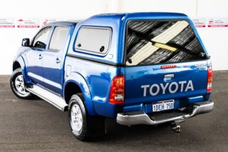 2009 Toyota Hilux KUN26R 09 Upgrade SR5 (4x4) Blue Metallic 4 Speed Automatic Dual Cab Pick-up.