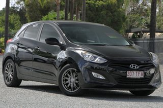2013 Hyundai i30 GD Active Phantom Black 6 Speed Manual Hatchback.