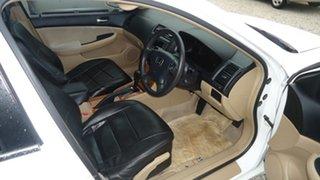 2003 Honda Accord 7th Gen VTi White 5 Speed Automatic Sedan