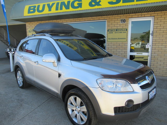 Used Holden Captiva CG LX Mandurah, 2009 Holden Captiva CG LX Silver 5 Speed Automatic Wagon