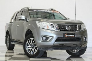 2015 Nissan Navara NP300 D23 ST-X (4x4) Grey 7 Speed Automatic Dual Cab Utility.