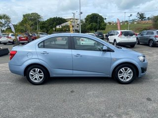 2012 Holden Barina TM MY13 CD Blue 6 Speed Automatic Sedan.