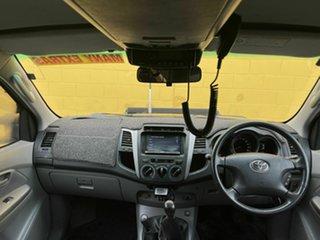 2007 Toyota Hilux Black 6 Speed Manual Dual Cab